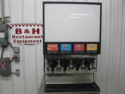 FBD 4 Head Flavor FCB Frozen Carbonated Beverage Slushie Icee Machine FBD564