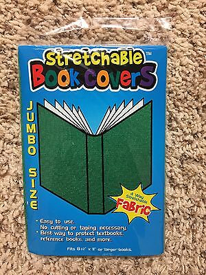 Green Jumbo Stretchable Book Covers Kittrich