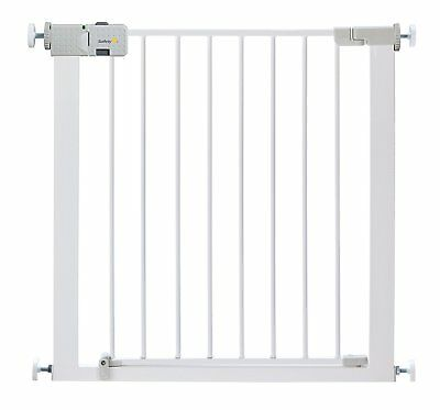 Safety 1st Secure Tech Simply Close Metal Gate - White NEW