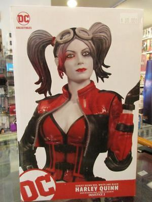 """DC Collectibles Harley Quinn Red, White & Black Injustice 2 7.75"""" Statue NEW"""