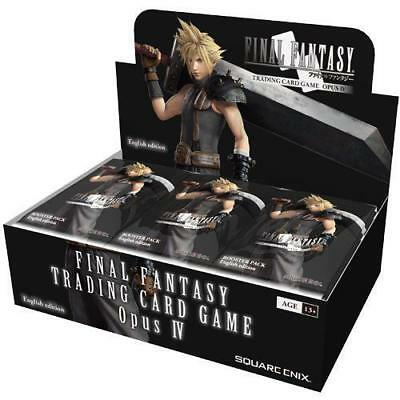 Final Fantasy TCG OPUS 4 IV Factory Sealed 36 Count Factory Sealed Booster Box