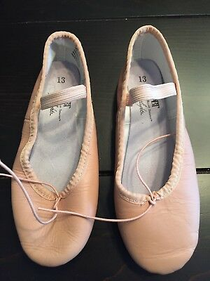 American Ballet Theatre ABT Girl's Pink Ballet Shoes Size 13