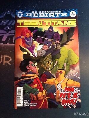 Teen Titans #5 Rebirth DC VF/NM (CBP080)