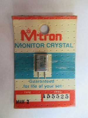 Mtron Monitor Crystal Nos Mrh2 Sealed Different Frequencies