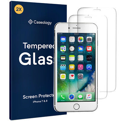 For Apple iPhone 8 / 7 Caseology® Tempered Glass HD Ultra Clear Screen Protector