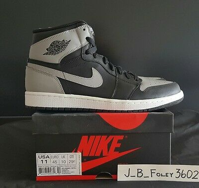 cheap for discount 5daf7 a3cd6 NEW 2013 Nike Retro Air Jordan 1 Shadow Size 11 Bred Banned Royal dunk og