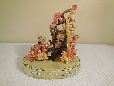 "Original ~ SEBASTIAN Miniature - ""Kids Love Jell-O"" by P.W. Baston 1955"