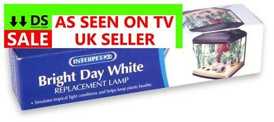 Interpet 15W Interpet Brightday White Lighting Aquariums Cages Spectrum Enhance