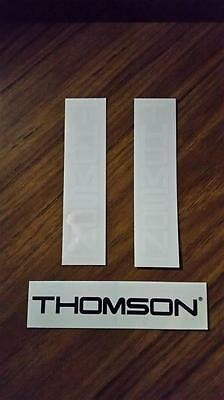 Thomson cycling stickers