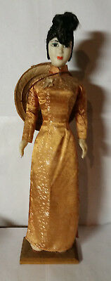 Antique Chinese Woman Doll