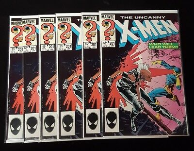 Uncanny X-Men 201 First Nathan Summers Cable