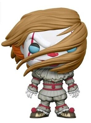 Pennywise with Wig Exclusive POP Figure  POP! Funko IT 2017