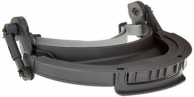 UVEX by Honeywell S9510 Uvex Turboshield Face Shield Hard Hat Adapter with Black