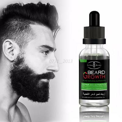 Beard Growth Elixir Beard Oil Leave-in Conditioner Natural Organic Hair Care Hot