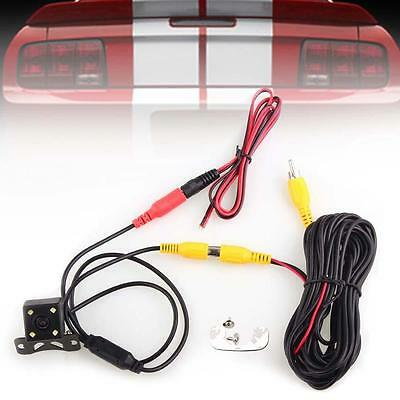 4 LED 12V Back Up Rear View Reverse Backup Camera Cam Night Vision Waterproof A▪