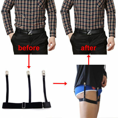 2pcs/Pair Holders Hidden Suspenders - Keeping Your Shirt Tucked In All Day US