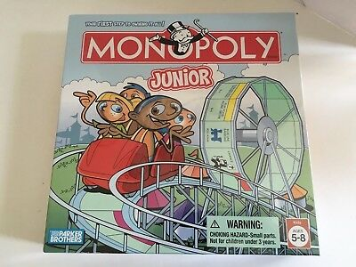Monopoly Junior Board Game New Factory Sealed Parker Brothers