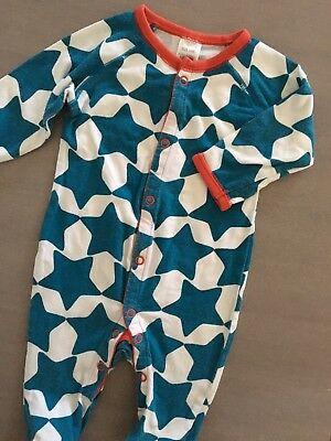 Size 000 ~ BONDS ~ Vintage Star Print Stretchy Suit ~ EUC!