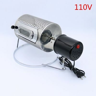110V Stainless Steel Coffee Bean Baking Machine Home Mini Coffee Bean Roasters