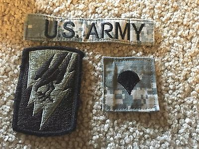 LOT OF 3 U.S. ARMY Jacket Patches