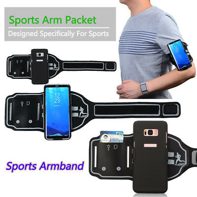 Sports Workout Gym Arm Band Bag Belt Case Cover For Samsung Galaxy S8 / S8 Plus