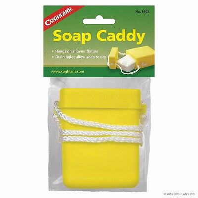 Coghlans Soap Caddy Shower Camping Carry Swimming Gym Outdoor Beach COG8402