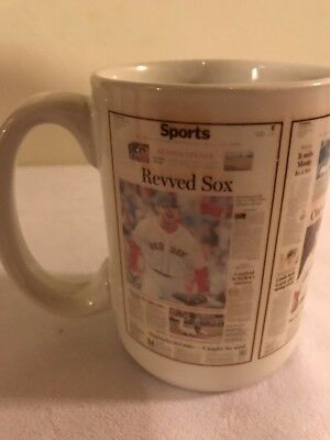 Newspaper Sports Page Headlines - Red Sox - Excellent