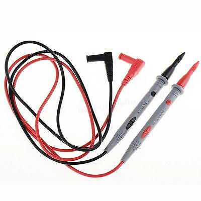 2 X Heavy Duty Multimeter Voltmeter Rubberized Test Probe Leads 1000V 20A MKLG