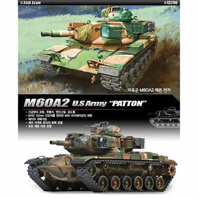 "ACADEMY #13296 1/35 Plastic Model Kit M60A2 U.S. Army ""PATTON"" Tank"