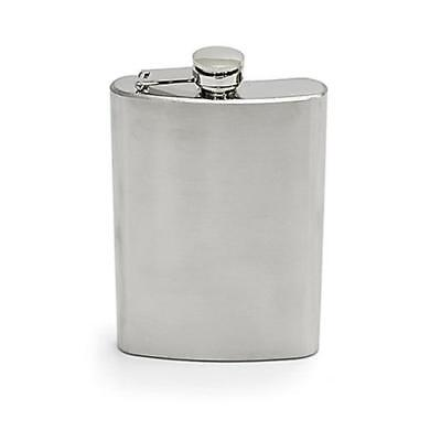 Chinook 41164 Hip Flask Stainless Steel 8 oz