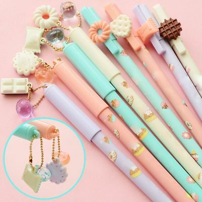 New 5PCS Fashion Stationery Candy Color Rollerball Pens/Gel Ink Pen-0.38mm