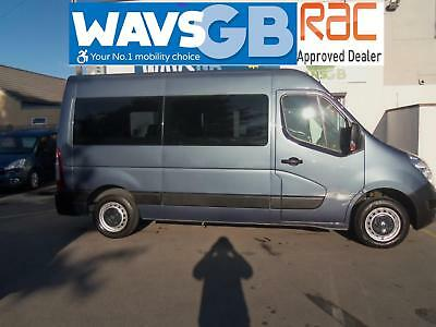 Renault Master 2.3TD MWB MM33 Sport Mobility Wheelchair Access Vehicle