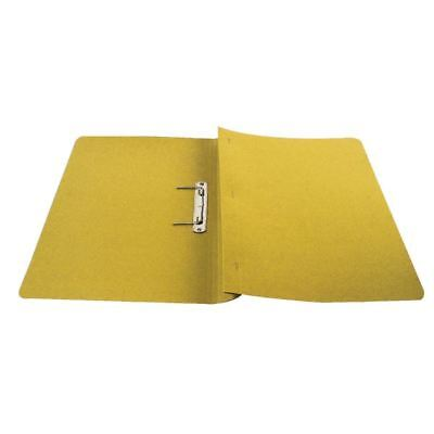 Q-Connect Foolscap/A4 35mm Capacity Yellow Transfer File (Pack of 25)  [KF26057]