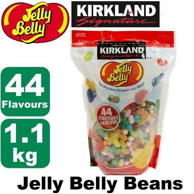 Jelly Belly Beans 1.1kg Bulk 44 Flavours Original USA Jelly Belly Gourmet Bean
