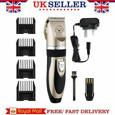Low-noise Electric Animal Pet Dog Cat Hair Razor Grooming Clipper Trimmer Shaver