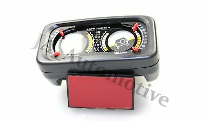 Off Road 4x4 Car New Double Incline Land Meter Inclinometer Dash Board BA5560