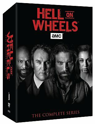 Hell On Wheels: The Complete Set Seasons 1-5 (DVD 17-Disc Set) Season 1 2 3 4 5