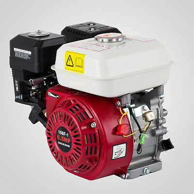 6.5HP Petrol Stationary Engine 4 Stroke Horizontal Shaft Air-cooled 3.6L Fuel AU