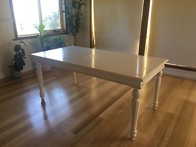 6 Seater French Provincial Dining Table 180cm