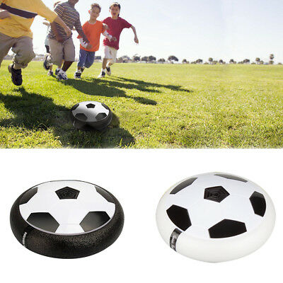 Football Soccer Air Power Soccer Disc Hover Glide Indoor/Outdoor Toy Surprise
