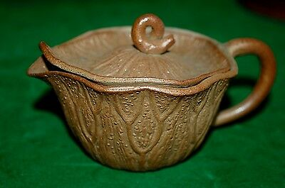 Mystery Rare Small Clay Antique Vintage ? Chinese Yixing Teapot Organic Natural