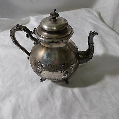 englische Teekanne ,silverplated um 1900