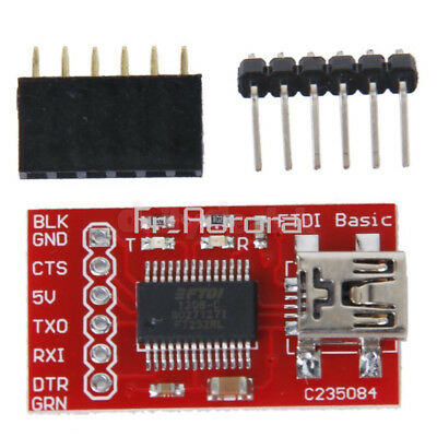FT232RL FTDI USB 2.0 to TTL Serial Adapter Module for Arduino Mini Pro 3.3V 5V