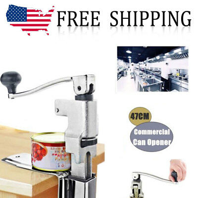 Heavy Duty Table Bench Clamp Can Opener Commercial Kitchen Restaurant Chef S/S