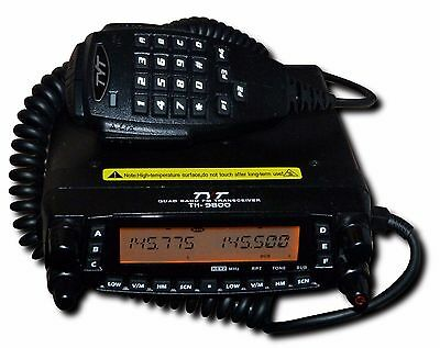 TYT TH-9800 Quad Band 50W Mobile Radio - 70 MHz/4 metre version