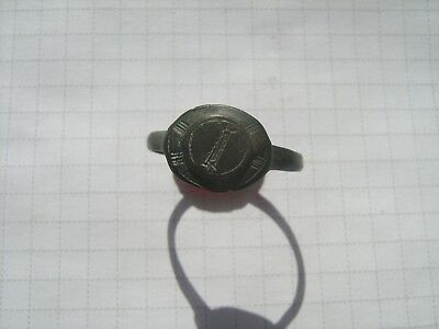 Ancient bronze ring №477