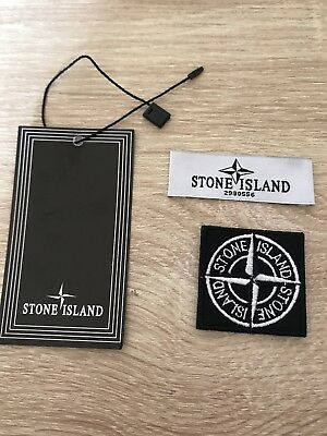 Stone Island Small Badge/ Patch With Tag And Label