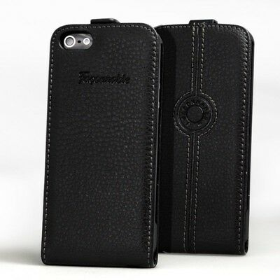 Faconnable Black Leather iphone case 5/5S/SE New & Boxed