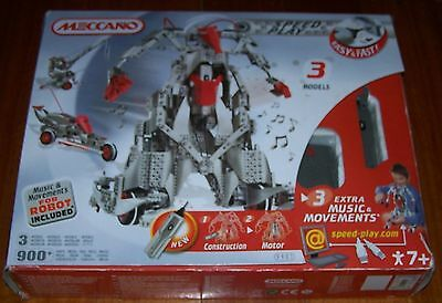 Meccano Set 9901 - Robot + 2 Others - Huge Set