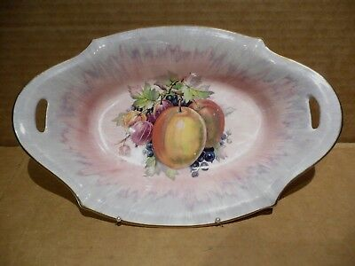 Royal Staffordshire Dinner Ware By Clarice Cliff Two Handled Dish  Fruit